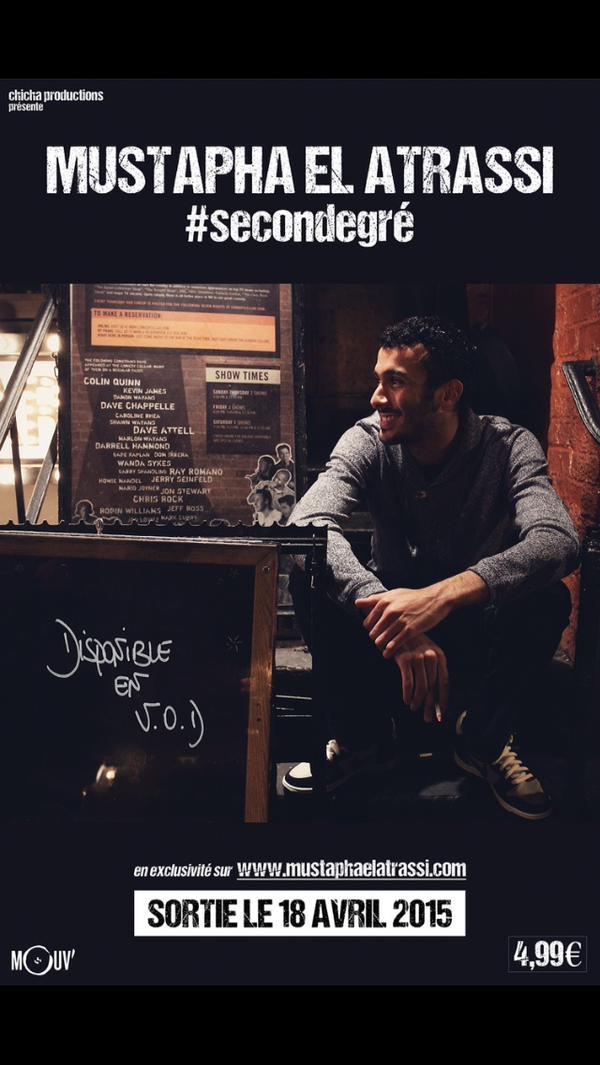 Mustapha El Atrassi - #Secondegré 2015