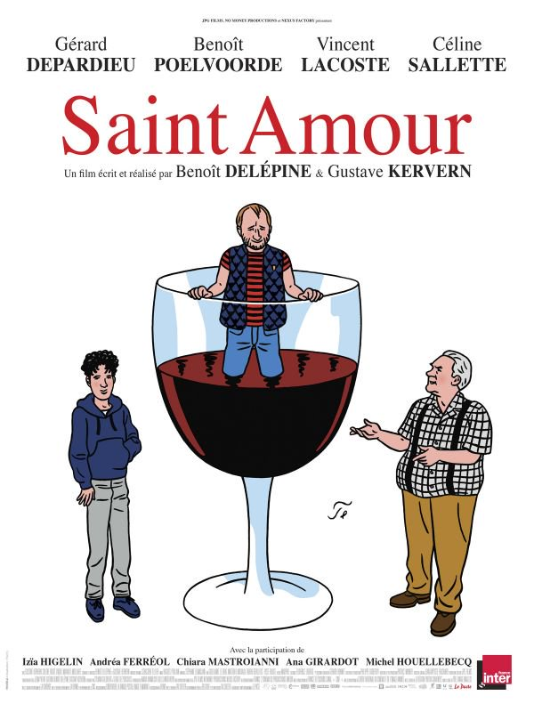 Saint Amour FRENCH DVDRIP 2016