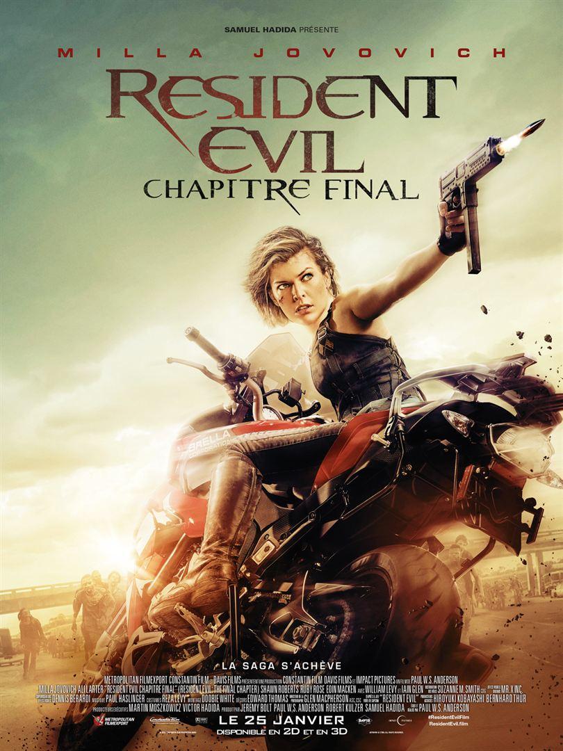 Resident Evil : Chapitre Final VO WEBRIP 2017