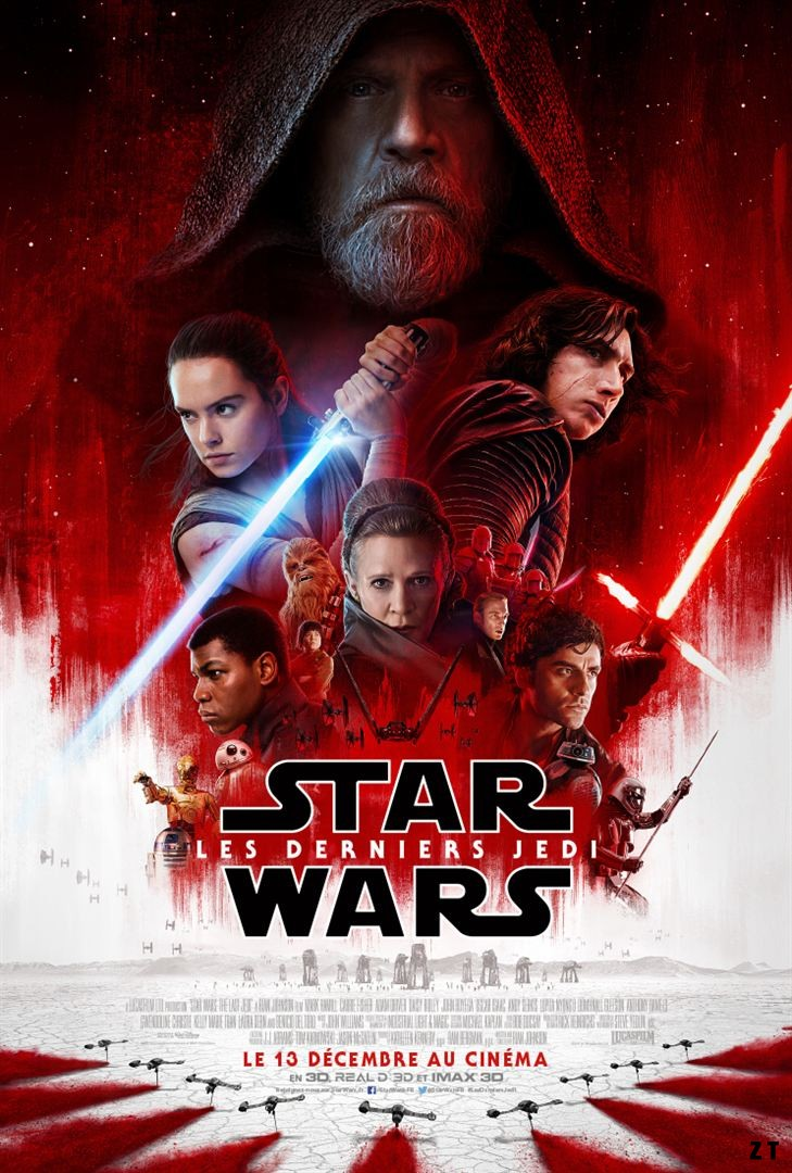 Star Wars 8 - Les Derniers Jedi FRENCH DVDSCR MD 720p 2017