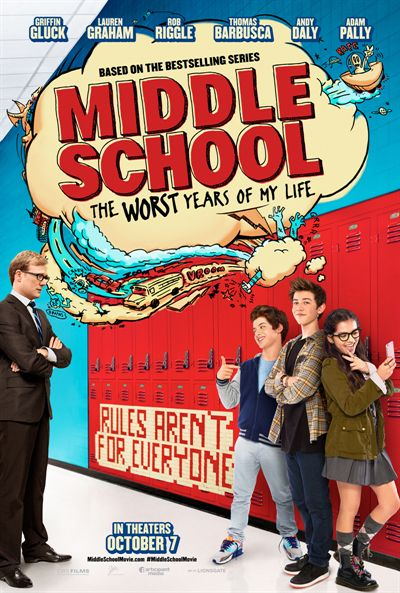 Middle School: The Worst Years of My Life FRENCH BluRay 720p 2016