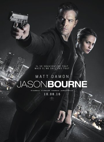 Jason Bourne FRENCH DVDRIP 2016