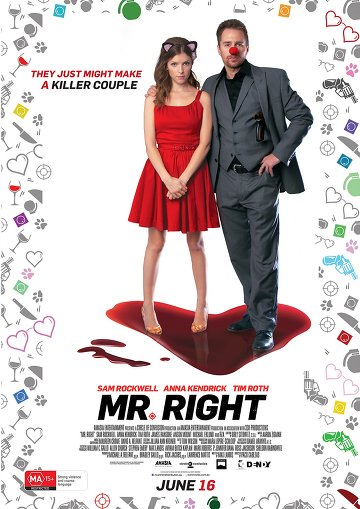 Mr. Right FRENCH BluRay 1080p 2016