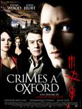 Crimes à Oxford DVDRIP FRENCH 2008