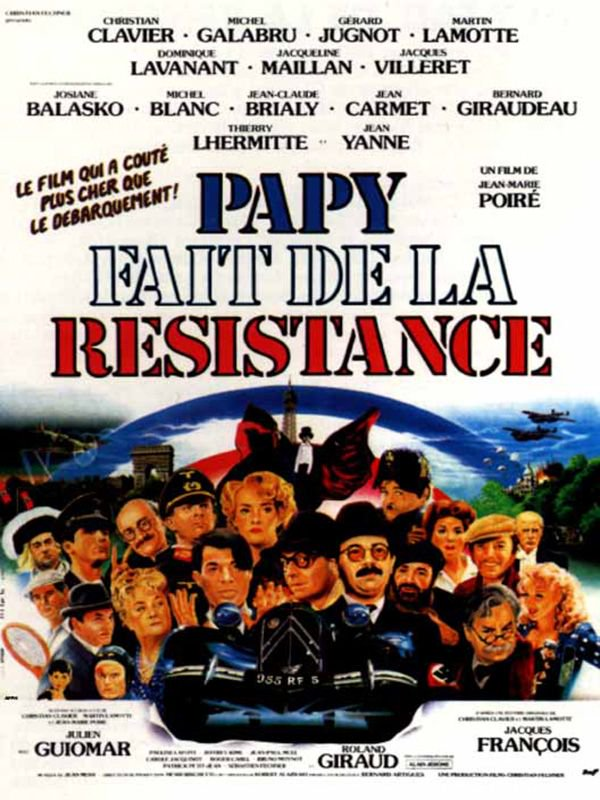 Papy fait de la résistance TRUEFRENCH DVDRiP 1983