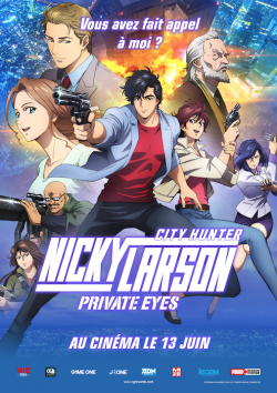 Nicky Larson Private Eyes FRENCH BluRay 1080p 2019